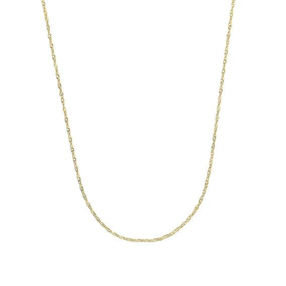 Cordão Cartier 45 Cm Folheado A Ouro 18k