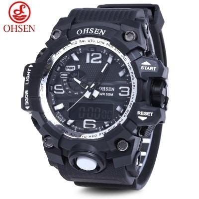 Relógio Ohsen Masculino Ad 1606 50m