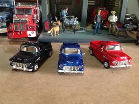 Lote Miniaturas Saico 1/32 Pickup Chevy Stepside 55-promoção