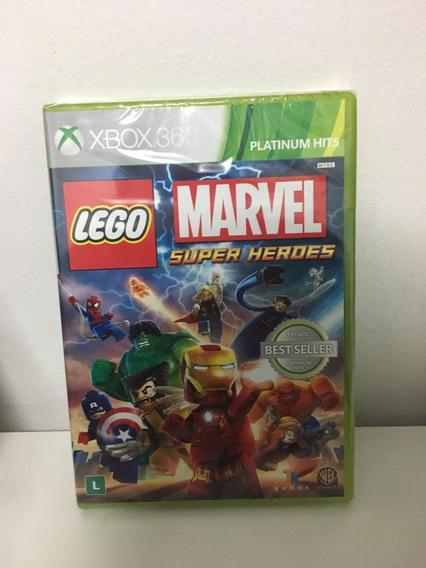 Jogo Xbox 360 Infantil - Lego Marvel Super Heroes - Lacrado
