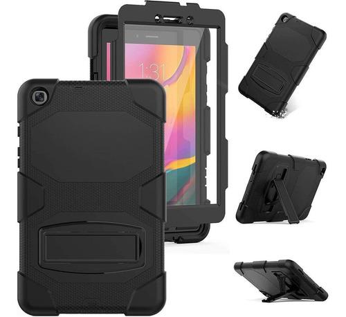 Funda Hxc Galaxy Tab A 8.0 T290/t295 + Protector Negro