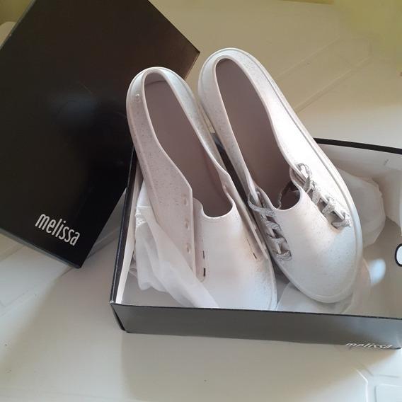 Melissa Ulitsa Sneaker - Branco/prata N° 42 Novo
