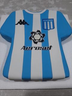 Torta Camiseta De Racing