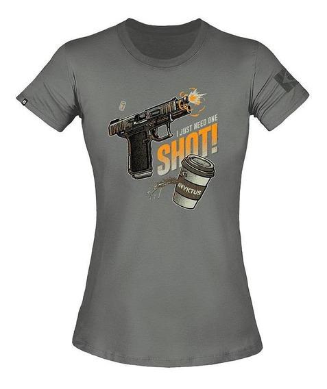 Camiseta T-shirt Invictus Concept Fem. Espresso