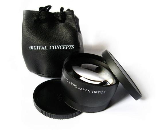 Lente Tele 2.0x 58mm Canon T7i T6i T5i T4i Fundo Desfocado