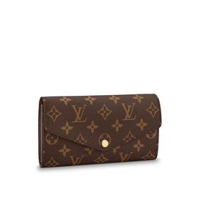 Billetera Louis Vuitton Sarah Monogram