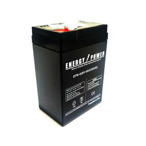 Bateria Selada 6v 4 Ah Para Moto Elétrica Bandeirantes