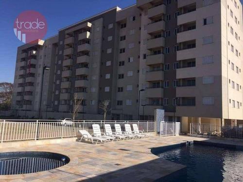 Apartamento Com 2 Dormitórios À Venda, 56 M² Por R$ 225.000,00 - Parque São Sebastião - Ribeirão Preto/sp - Ap6642