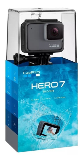 Câmera Gopro Hero 7 Silver Original Pronta Entrega 12 X