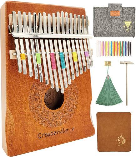 Crescendo & Co 17 Pulgar De Piano Clave Kalimba Mbira Hecha