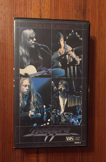 Dokken - Vhs - One Live Night