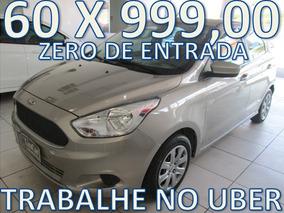 Ford Ka Se Flex Completo Zero De Entrada + 60 X 999,00 Fixas