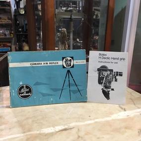 Manual De Instruções Bolex Paillard Filmadora Antiga 151