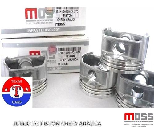 Juego De Piston Chery Arauca