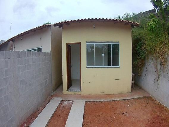 Casa Em Serra, Minha Casa Minha Vida, Bairro Macafé, Prontas Pra Morar, Casa Linear, Com 2 Quartos 1 Suite - Ca00276