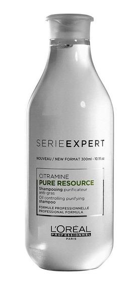 Loreal Profesional Shampoo X 250 Pure Resource Cabello Graso