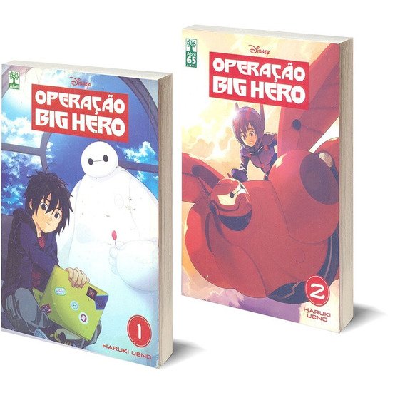 Mangá Operação Big Hero 2 Vols Com Desgaste Na Capa