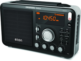 Radio Grundig Eton Field Am Fm Ondas Curtas Bluetooth Novo