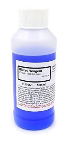 Biuret Reactivo Productos Quimicos Solucion 100 Ml La Colec