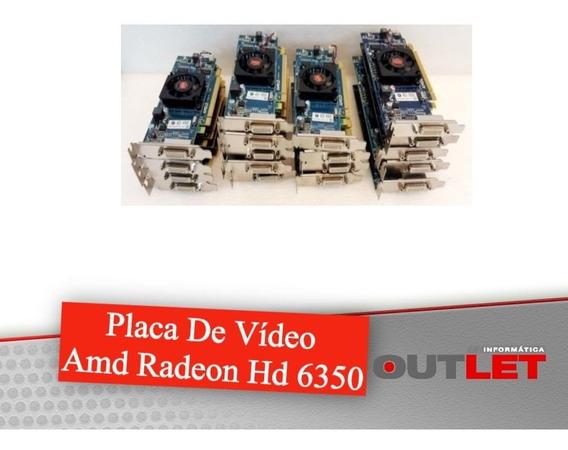 Placa De Vídeo Amd Radeon Hd 6350 Ddr3 Sdram De 64 Bits