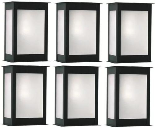 5 Farol Exterior Pared / 5 Led 10watt Art 2000