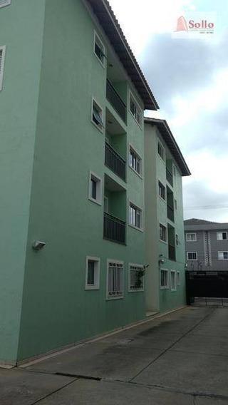 Apto 66m² Com 02 Dorms E 01 Vaga - Jardim Tranqüilidade - Guarulhos/sp - Ap0195