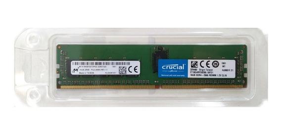 Memória 16gb Ddr4-2666 Ecc Rdimm R440 R540 R640 R740 R840 Nf