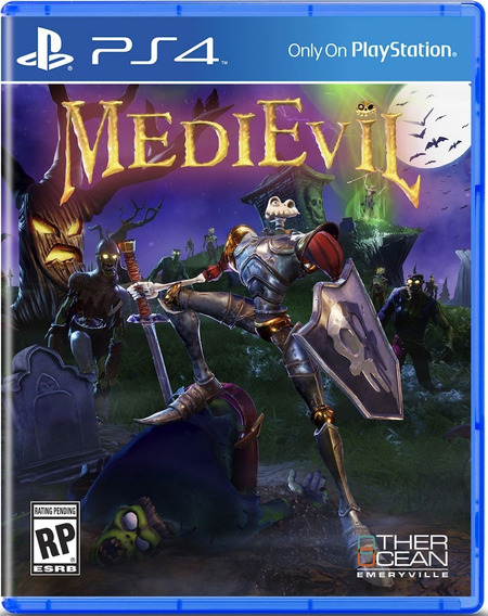 Jogo Playstation 4 Medievil Ps4 Lacrado