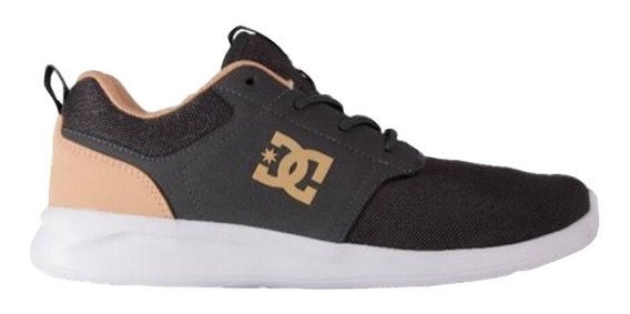 Tenis Hombre Calzado Midway Adys700136-grw Gris Dc Shoes