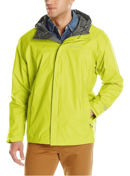 Campera Columbia Impermeable Lluvia Watertight Jacket Hombre