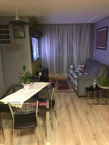 Imagem 1 de 17 de Apartamento À Venda, 65 M² Por R$ 307.000,00 - Colônia - São Paulo/sp - Ap0448