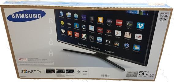 Samsung 50 Flat Smart Full Hd Tv.