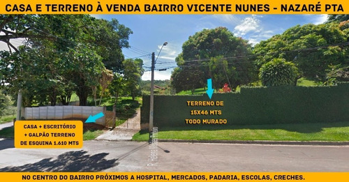 Imagem 1 de 10 de Terrenos Ou Lotes Residenciais Para Venda No Bairro Vicente Nunes Em Nazaré Paulista - Cod: Ai22712 - Ai22712