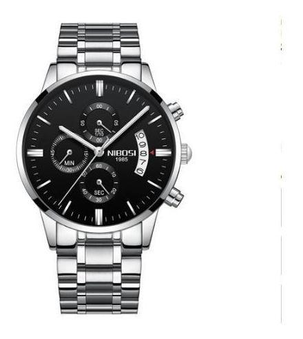 Relógio Nibosi 100% Funcional Resistente A Água 2309