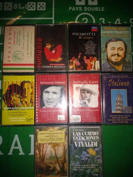 Se Venden Cassettes De Musica Variada Italiana 40$ C/ U