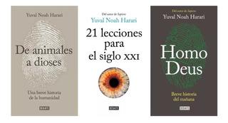 Harari X3 Homo Deus+ De Animales A Dioses+ 21 Lecciones S 21
