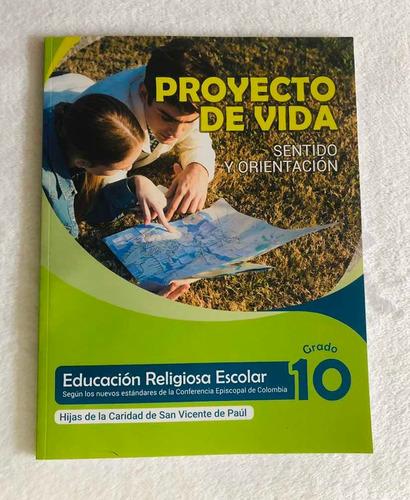 Libro Cartilla Guía De Religión Hijas De La Caridad Grado 10