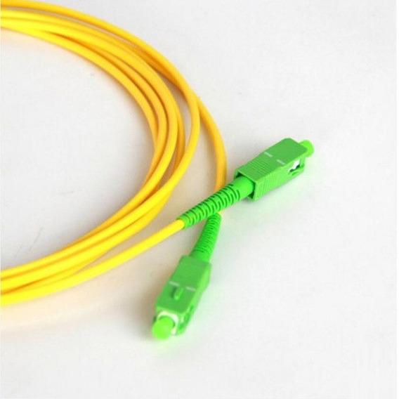 Fiber Optic Patch Cord Sc/apc-sc/apc Sx Sm 3.0mm 5m