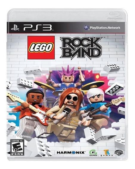 Lego Rockband (mídia Física) - Ps3