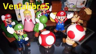 Mario Bros Super Mario Colecciòn Completa Mc Donalds 2014