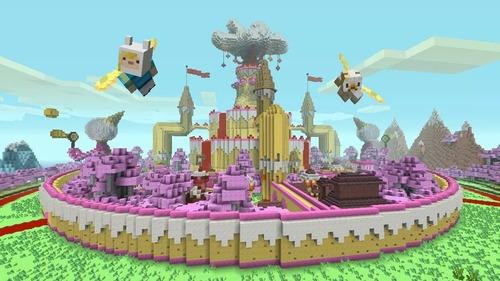 Minecraft Adventure Time Hora De Aventura Dlc Ps3 Original Mercado Libre
