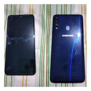 Celular Samsung A20s Azul