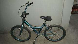 Bicicleta Rodado 20 Zona Azul