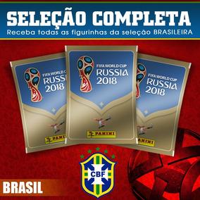 Figurinhas Copa Do Mundo 2018 Seleção Do Brasil Completa