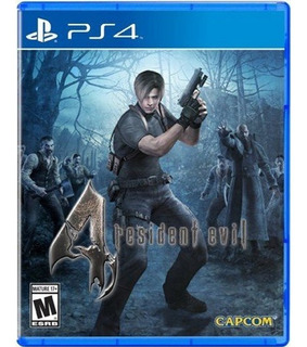 Ps4 Juego Resident Evil 4