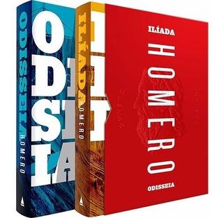 Box Odisseia E Ilíada 2 Livros Capa Dura Lacrado
