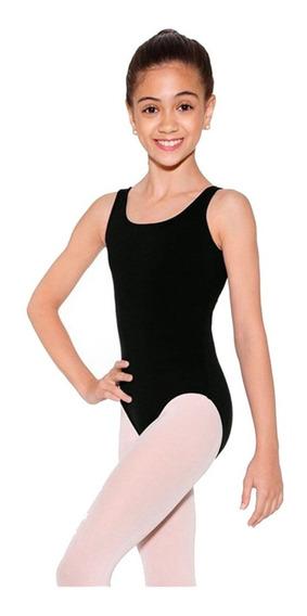 Collant Regata + Saia Novo - Ballet - Capezio Infantil Preto