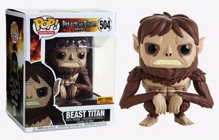 Beast Titan Attack On Titan Hot Topic Exclusive Funko Pop