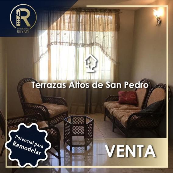 Apartamento Con Potencial En Altos De San Pedro Guatire