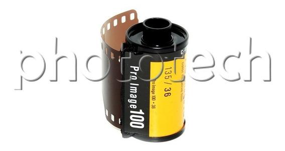 Filme Fotográfico Kodak 36 Poses Iso 100 Pro Image Colorido